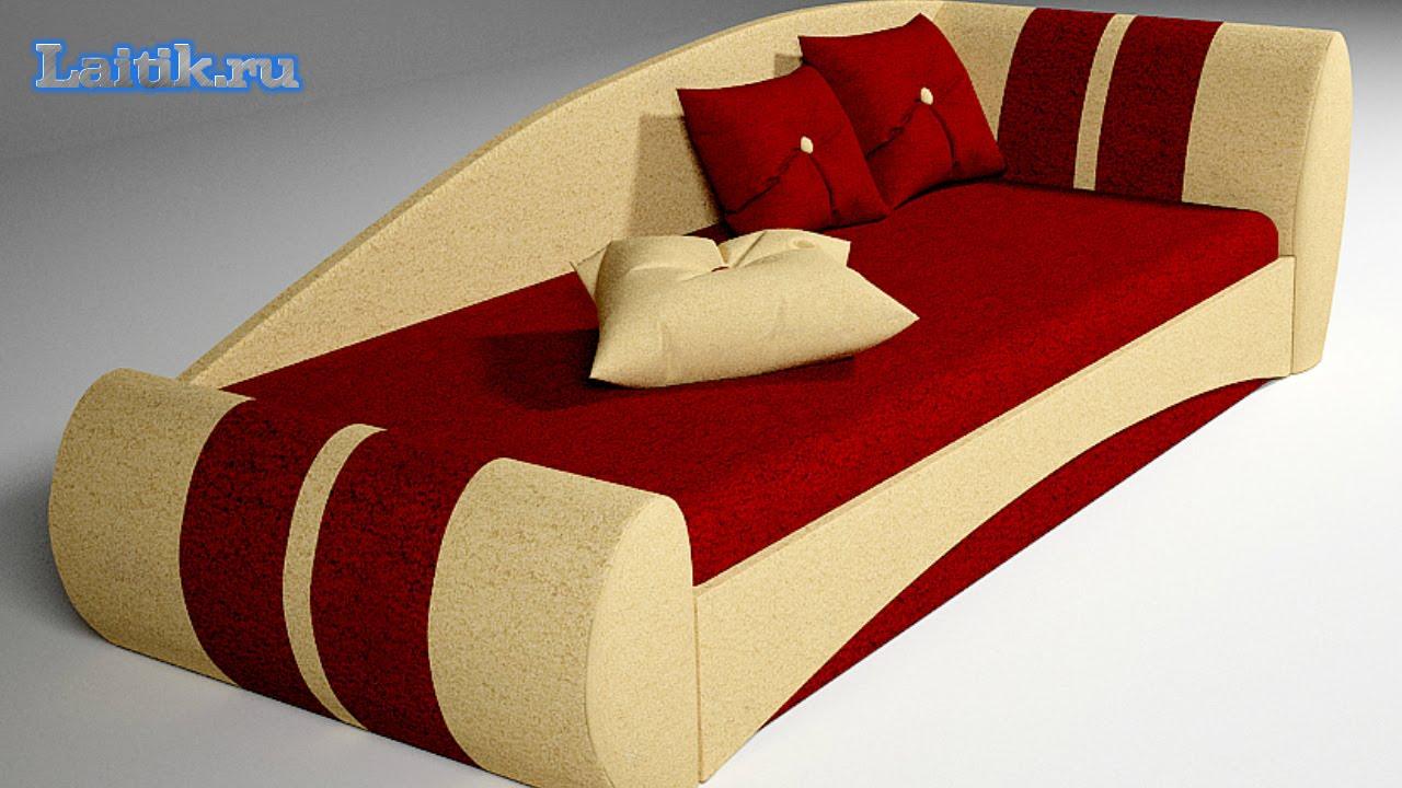 Bolzan Letti (Италия) - детские диваны и кровати - YouTube
