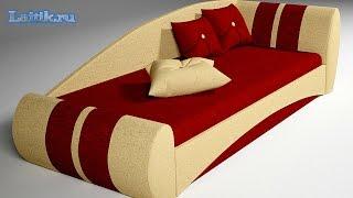 Детская модульная мягкая мебель. Детский диван кровать Гран При. Интернет-магазин