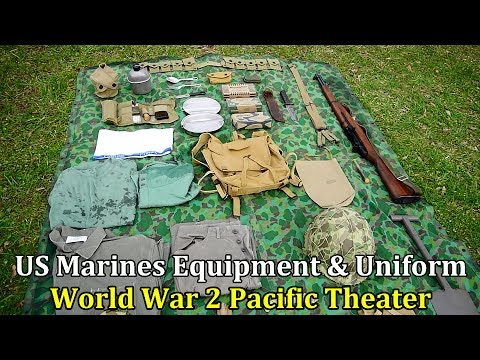 US Marines Equipment and Uniform in the Pacific Theater, WW2 | Collector's & History Corner