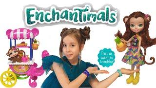 Кукла Enchantimals Обезьянка Мерит Обзор Энчантималс Игровой набор для Девочек