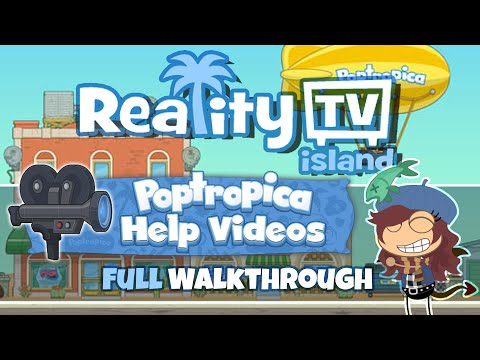 Reality TV Island (FULL Walkthrough) :: Poptropica Help Videos