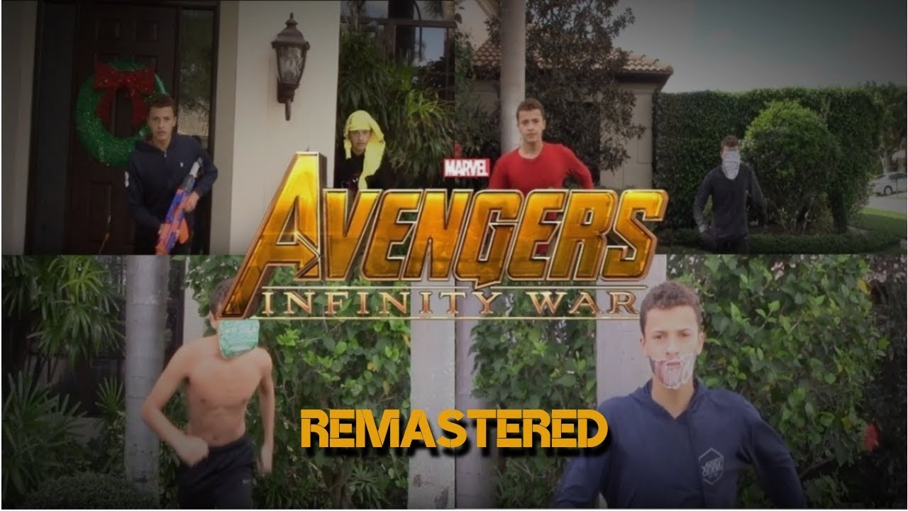 Avengers: Infinity War (Spoof Trailer) [REMASTERED] - YouTube