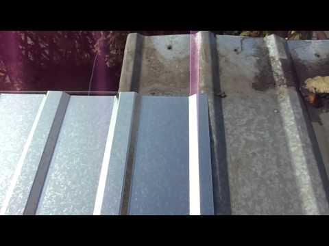 видео: Кроем крышу профнастилом. 2