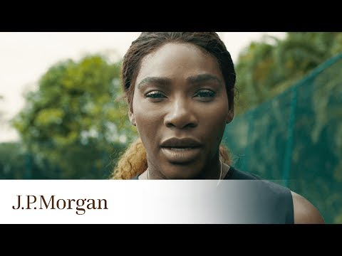 Serena Williams Returns To The US Open | J.P. Morgan