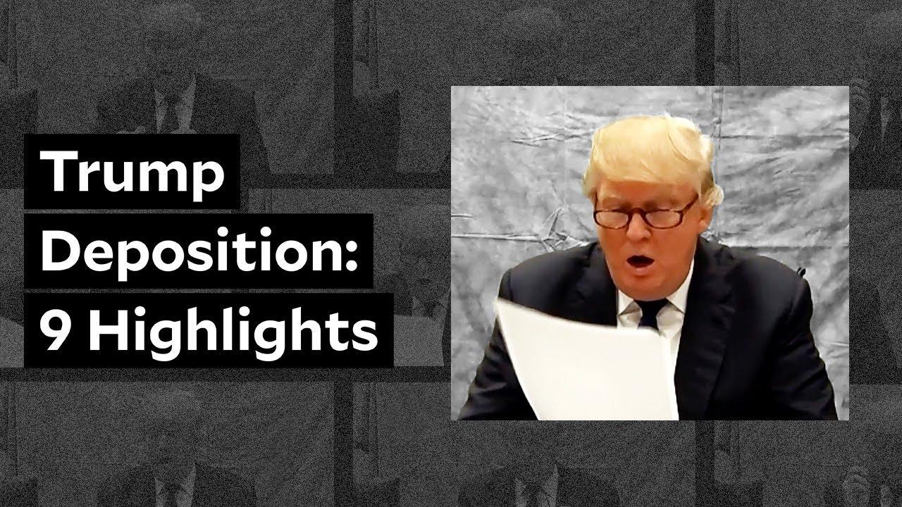 REVEALED: Trump's hidden video deposition in Trump University fraud case