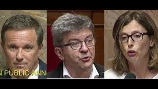 Mélenchon s'adresse à Dupont-Aignan et recadre E. Ménard !
