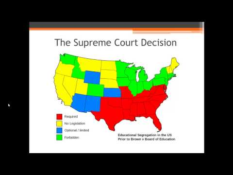 APUSH Review: Brown v. Board of Education