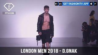 London Men Spring/Summer 2018 - D.GNAK  | FashionTV