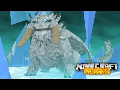 SAVING a HUGE SNOW BEWILDERBEAST! - Minecraft Dragons