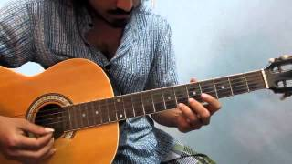 Antha sivagami Maganidam - Indian classical based song on Guitar - Part 2