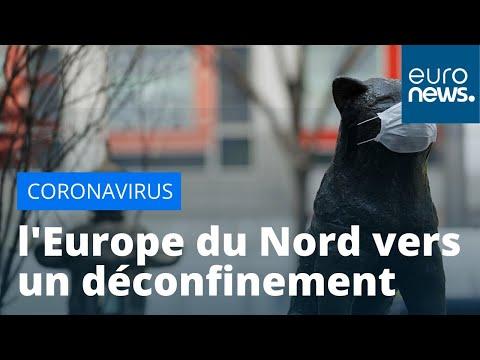 Coronavirus: l'Europe du Nord se prépare au déconfinement