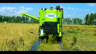 Kartar Track combine harvester