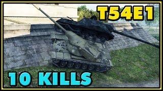 World of Tanks | T54E1 - 10 Kills - 7.8K Damage