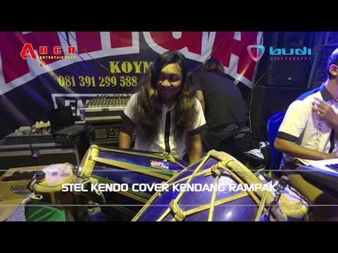 Stel Kendo Cover Kendang Rampak VOKAL Rina Angelia - ARGA Entertainmen