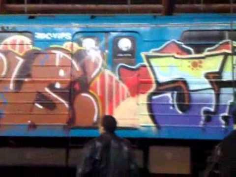 Yerevan metro graffiti - 2
