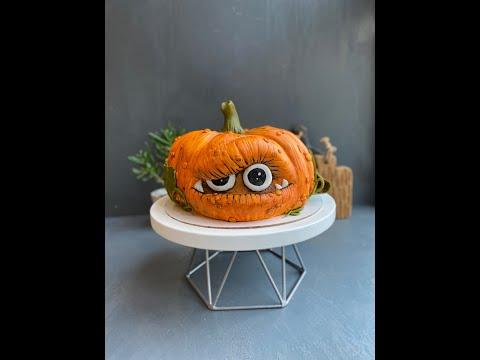 Хэллоуин-торт в виде