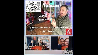 ComicsOnCannabis proudly welcomes NJ Standup and Co-Owner of AC Jokes Mr Matt Bridgestone.