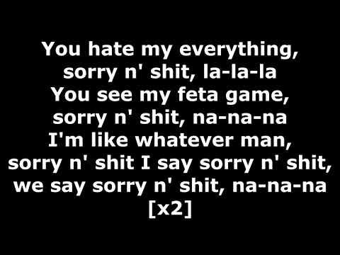 Tech N9ne - Sorry N' Shit - Lyrics (ft. 57th Street Rogue Dog Villians)