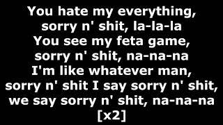Gambar cover Tech N9ne - Sorry N' Shit - Lyrics (ft. 57th Street Rogue Dog Villians)