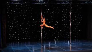 Artemis Anagnostou - Greek Pole Dance Championship 2017 by Rad Polewear - Professional Division