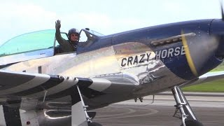 P-51 Mustang Short Clips | Crazy Horse 2 | Homestead Air Show, 2016
