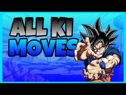 🔥All Energy and Ki Blasts | Dragon Blox Ultimate
