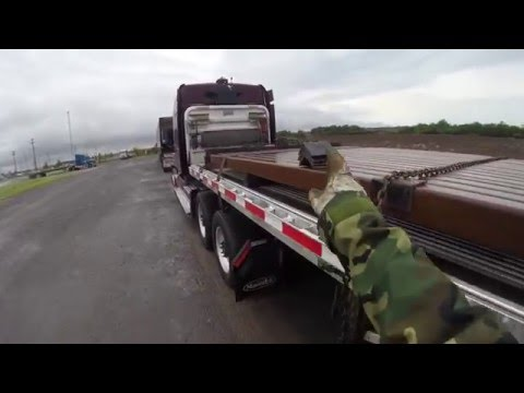 Flatbed Securment:  47500lbs Square bar