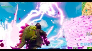 Getting Struck By Lightning in Fortnite!! What Happens? - Fortnite: Battle Royale