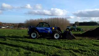 Farmers weekly handler demonstration day