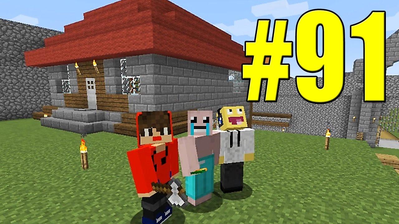 Minecraft equipe survival 91 a casa moderna do jabuti for Casa moderna survival minecraft