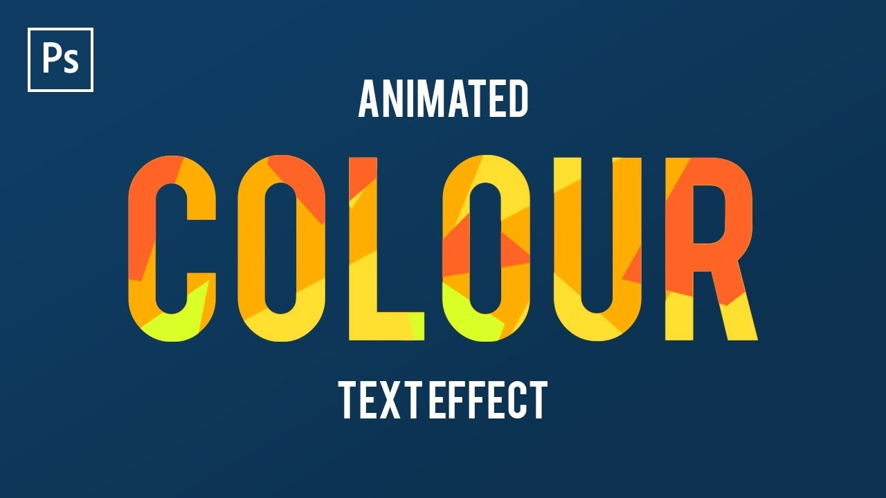 how to animate text in adobe photoshop cc frame animation youtube
