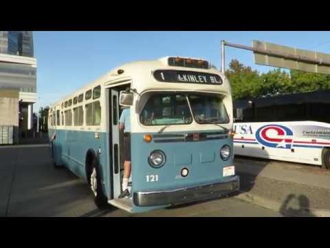Motor Bus Society 2016 Fall Convention Sacramento, CA  Sacramento Regional Trainsit GM Coach #121