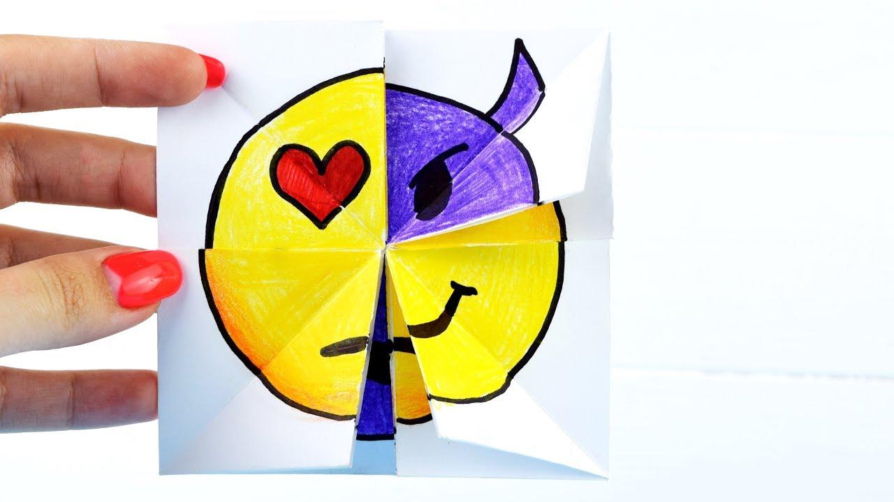 этого оригами из бумаги смайлы меняющие лицо пошагово в картинках конце января мне