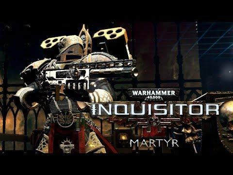 CRUZADO con ARMAMENTO PESADO!! | Warhammer 40.000: INQUISITOR MARTYR