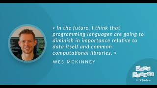 #49 Data Science Tool Building (with Wes McKinney)