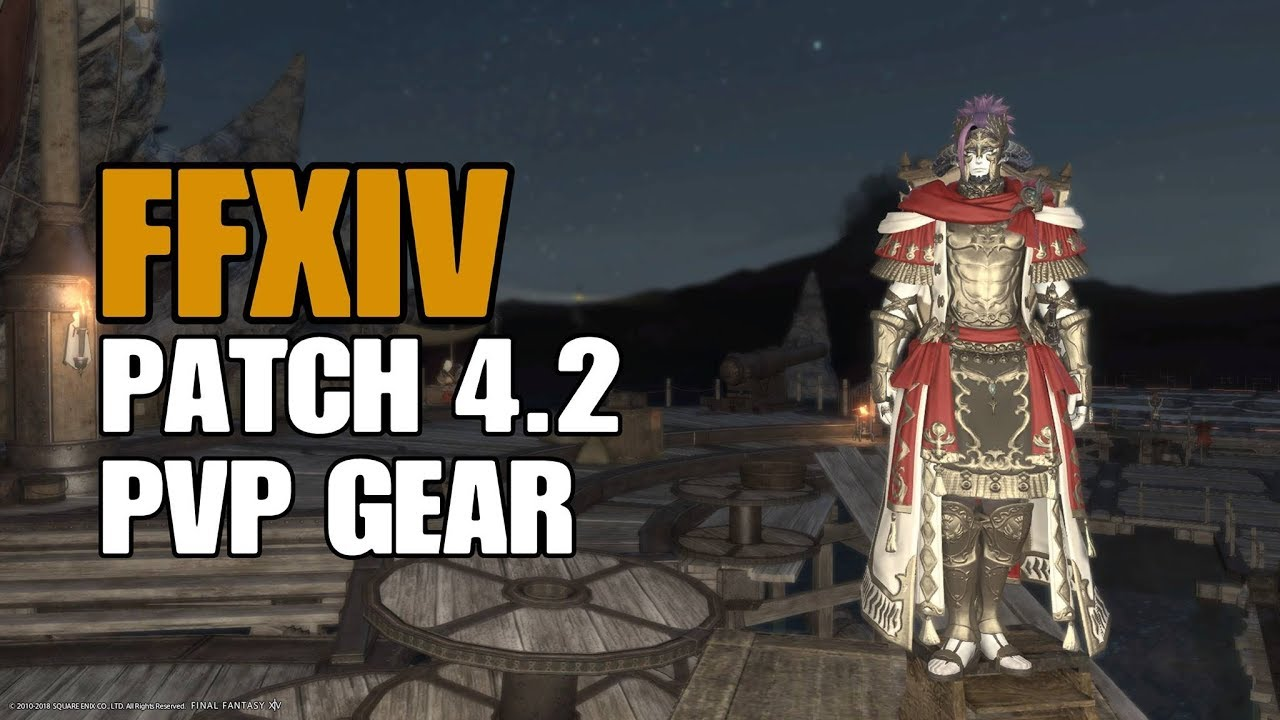 FFXIV Patch 4 2 New PvP Gear