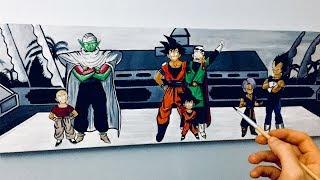Peinture Dragon Ball
