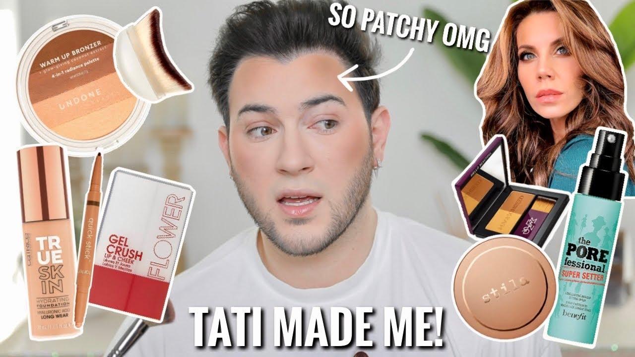 TATI MADE ME BUY IT! Testing Tati Westbrook's Favorite Makeup!