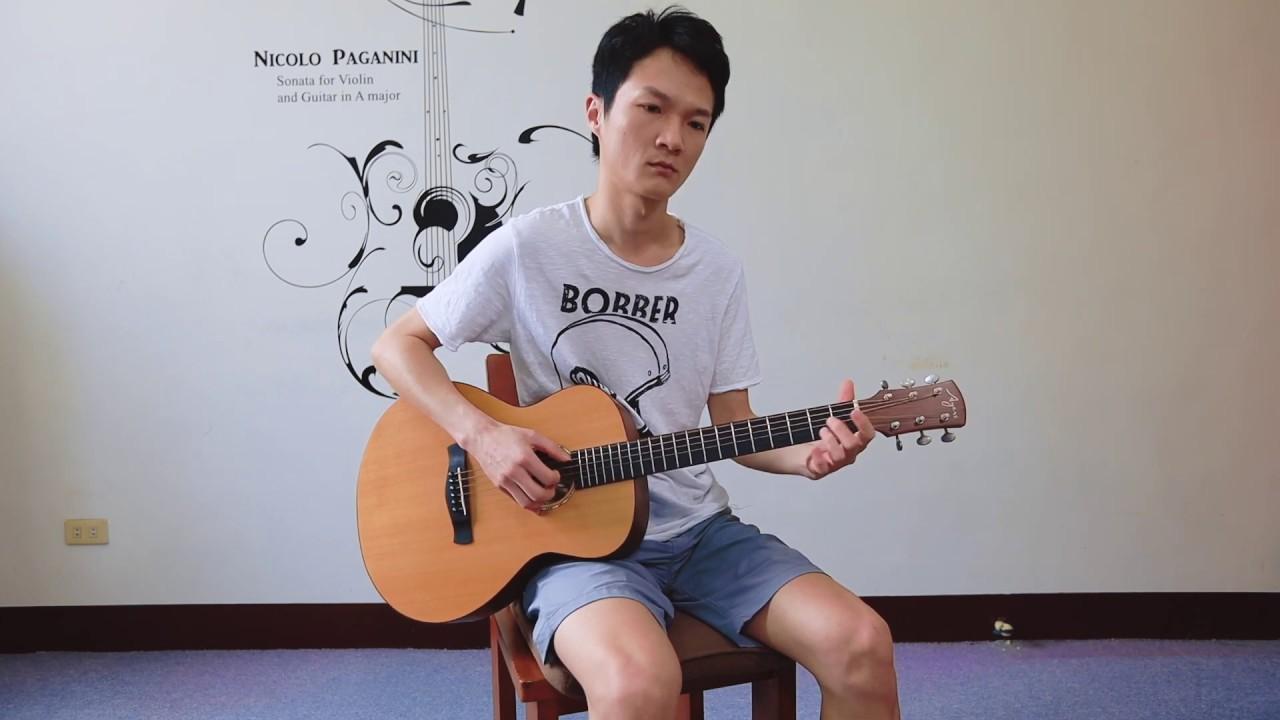 黃品源 [你怎麼捨得我難過] 主歌吉他彈唱教學 - YouTube