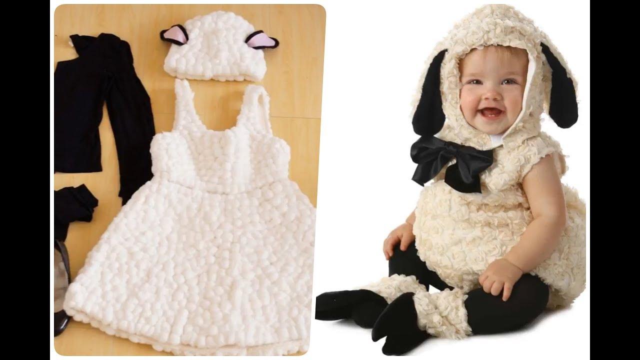 Disfraces de ovejitas para ni os youtube - Disfraz de navidad para bebes ...