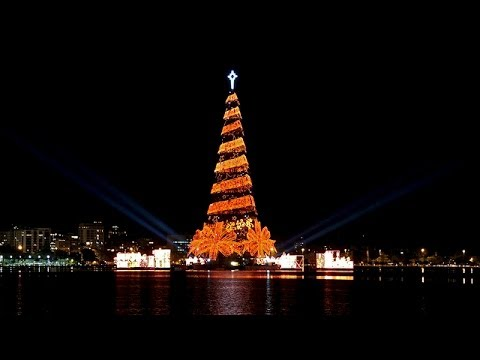 The Largest Christmas Tree In The World / Mexico City - YouTube
