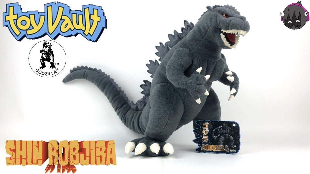 Ty Puppies Stuffed Animals, Toy Vault Big Godzilla Plush Toy Rob S Godzilla Room Reviews 94 Youtube