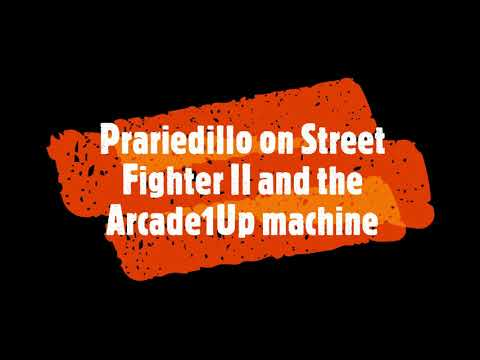 Street Fighter II Arcade1Up vs Dynamo HS2 CPS1 arcade hardware from Prairiedillo