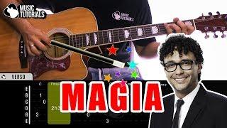 Cómo Tocar Magia De Andres Cepeda, Sebastian Yatra En Guitarra  Tutorial + Pdf