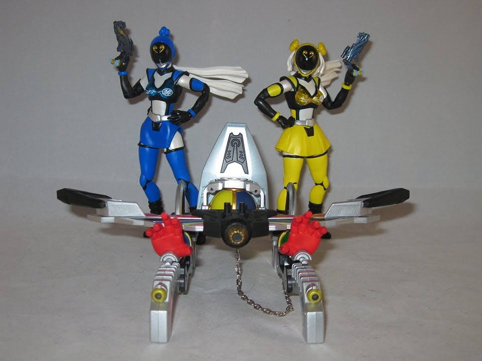 Bandai S.H SH Figuarts Akibaranger Akiba Yellow Action Figure