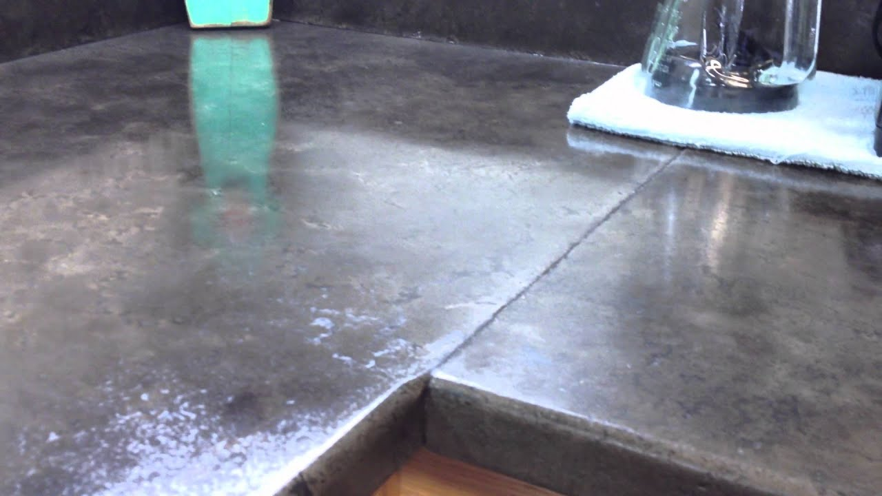 How To Make Your Own Concrete Kitchen Countertop