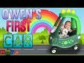 Owen's First Dino Car & Water Games || Mommy Monday