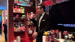 Overview of the Hasbro's 2014 Battle Masters series — NY Toy Fair 2014