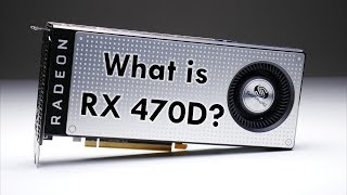 Radeon RX 470D from Sapphire - What is it?