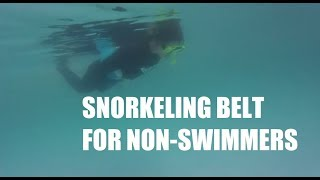 Snorkeling for Non-Swimmers with Speedo Water Belt